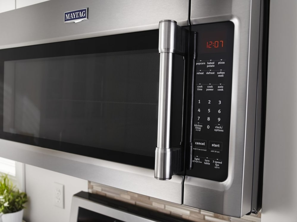 Maytag Mmv4205fz 2 0 Cu Ft Over The Range Microwave With Sensor Cooking Cooking Rack