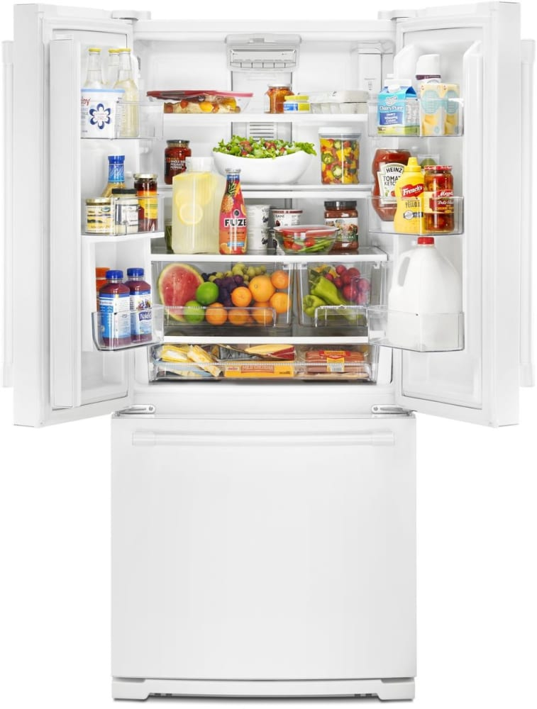 Maytag Mff2055frw 30 Inch French Door Refrigerator With