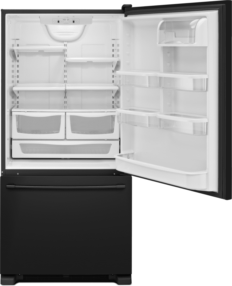 Maytag Mbf2258feb 33 Inch Bottom Freezer Refrigerator With