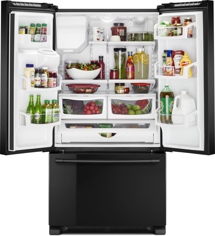 Maytag MFI2570FEB 36 Inch French Door Refrigerator with 25 cu. ft ...