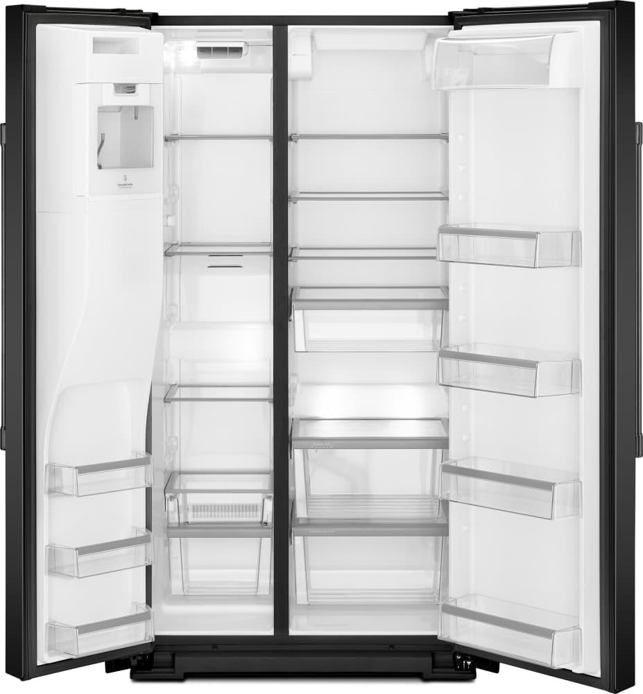 Maytag Mss26c6mfb 36 Inch Side By Side Refrigerator With