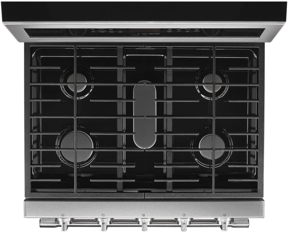 Maytag Mgt8800fz 30 Inch Freestanding Gas Range With Double Ovens Stove Element Wiring Diagram Burner View