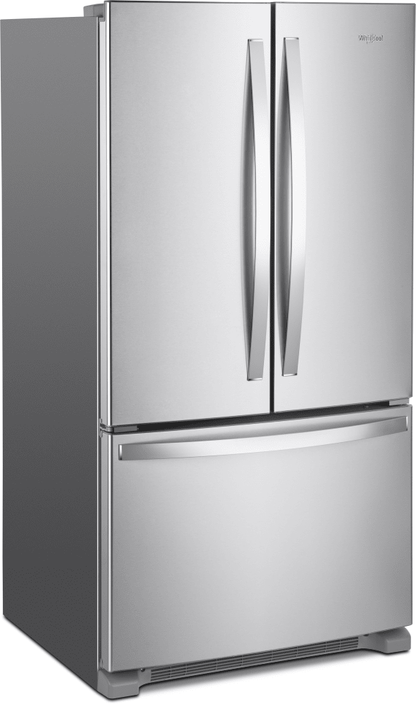 ... Whirlpool WRF535SWHZ   36 Inch French Door Refrigerator From Whirlpool  ...
