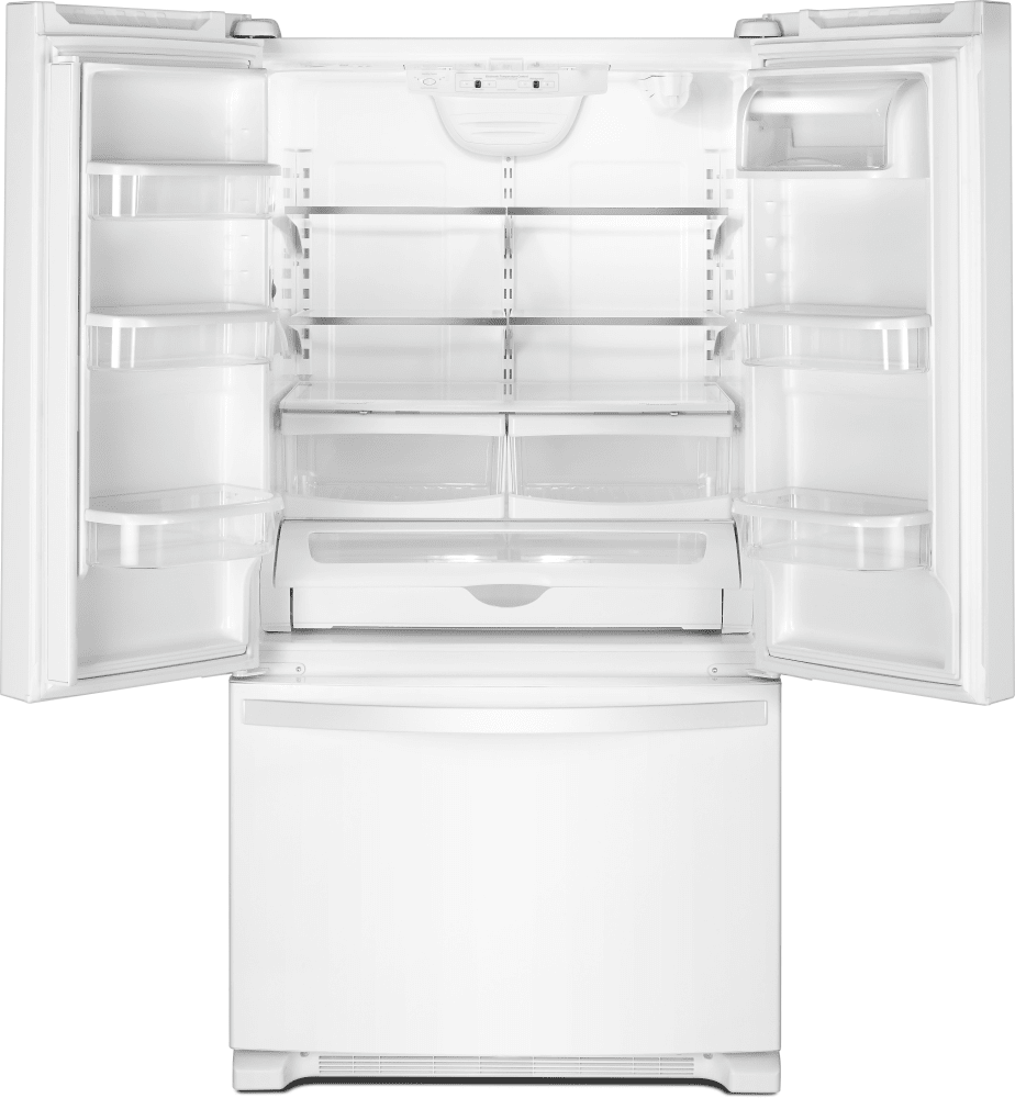 Whirlpool Wrf535swhw 36 Inch French Door Refrigerator With Interior Water Dispenser Everydrop