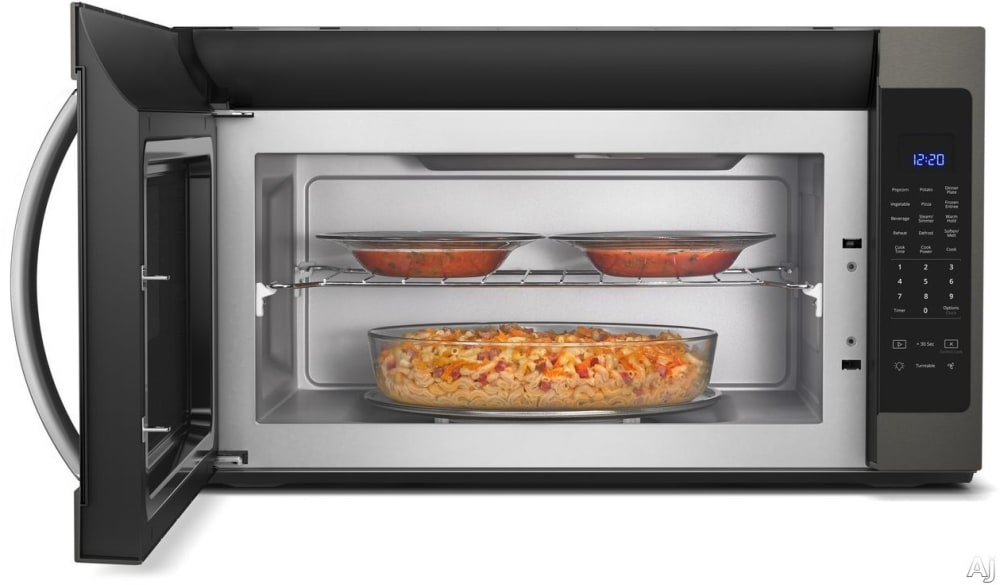 Whirlpool Wmh53521hv 2 1 Cu Ft Over The Range Microwave