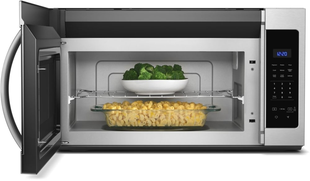 Whirlpool Wmh31017hs 1 7 Cu Ft Over The Range Microwave
