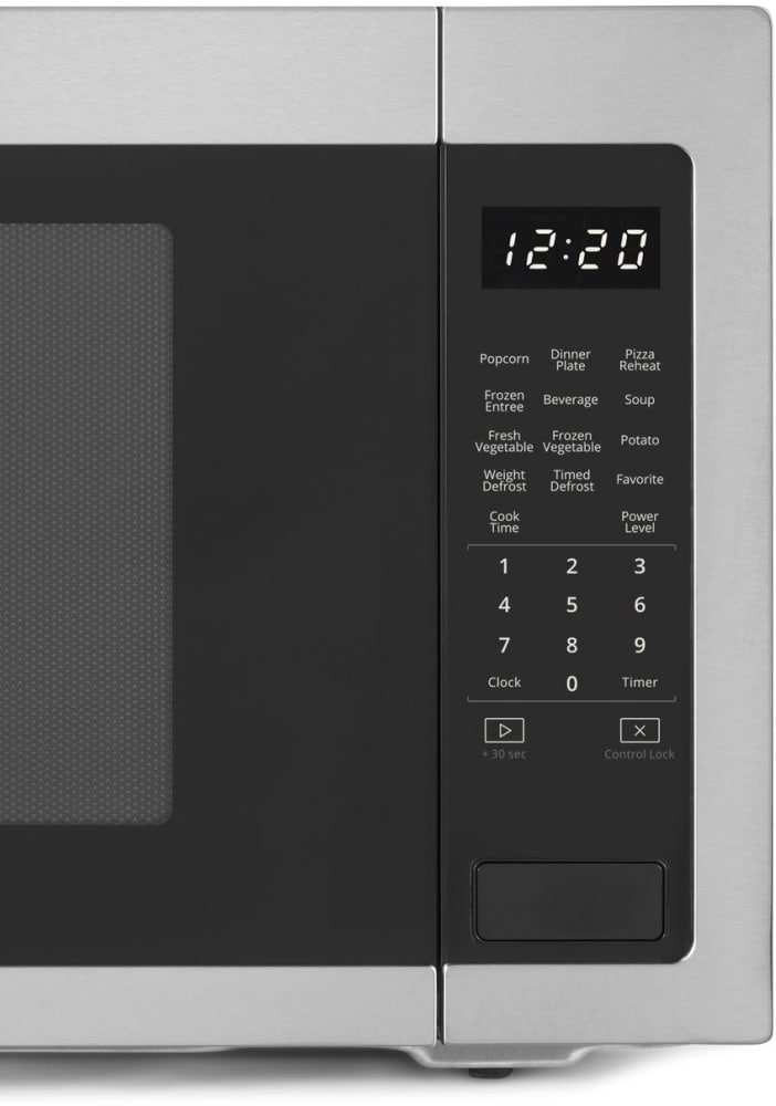 Whirlpool Wmc50522hz Stainless Steel Front View