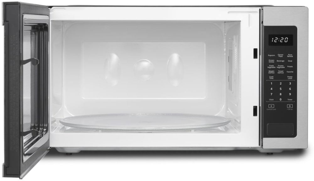 Whirlpool Wmc50522hz 2 2 Cu Ft Countertop Microwave With