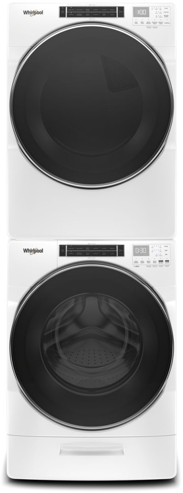 Whirlpool Wfw8620hw 27 Inch Front Load Washer With Load