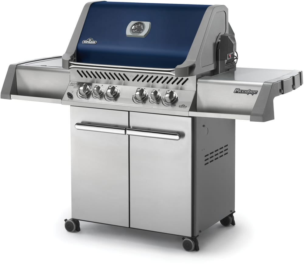 Napoleon p500rsibnb1 64 inch freestanding gas grill with for Ajmadison