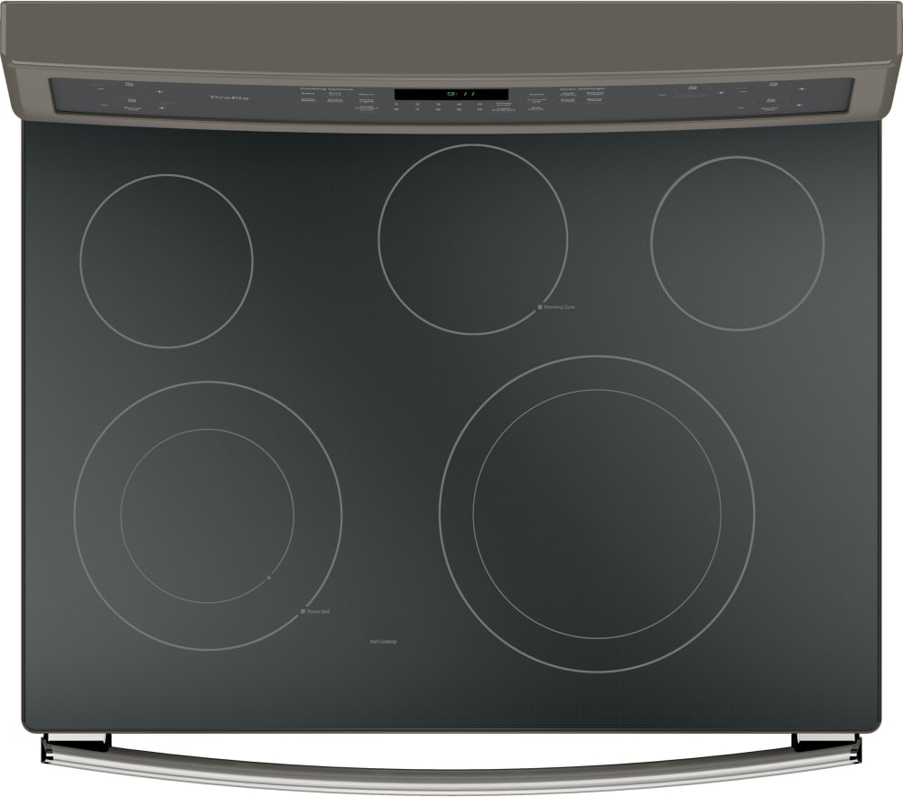 GE PB911EJES 30 Inch Freestanding Electric Range with True ... for Electric Stove Top View  588gtk