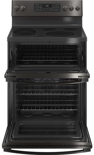 Ge Pb965bpts 30 Inch Electric Smart Range With 5 Radiant