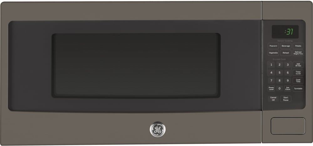 Ge Profile Pem31efes Series 1 Cu Ft Countertop Microwave Oven
