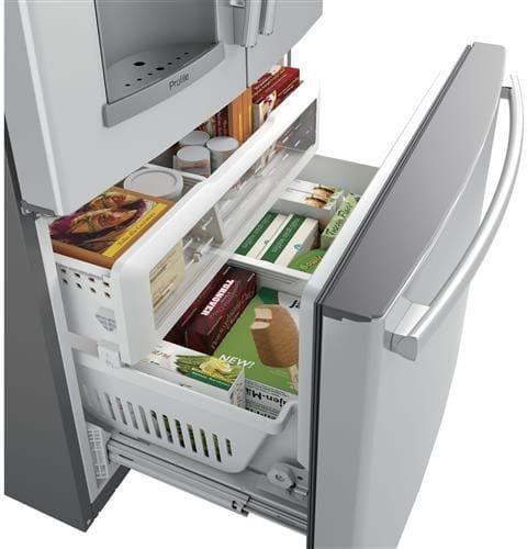 Ge Pfd28kslss 36 Inch Smart French Door Refrigerator With