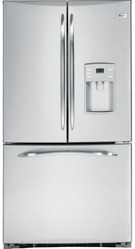 Ge Pfss5pjzss 25 1 Cu Ft French Door Refrigerator With 4