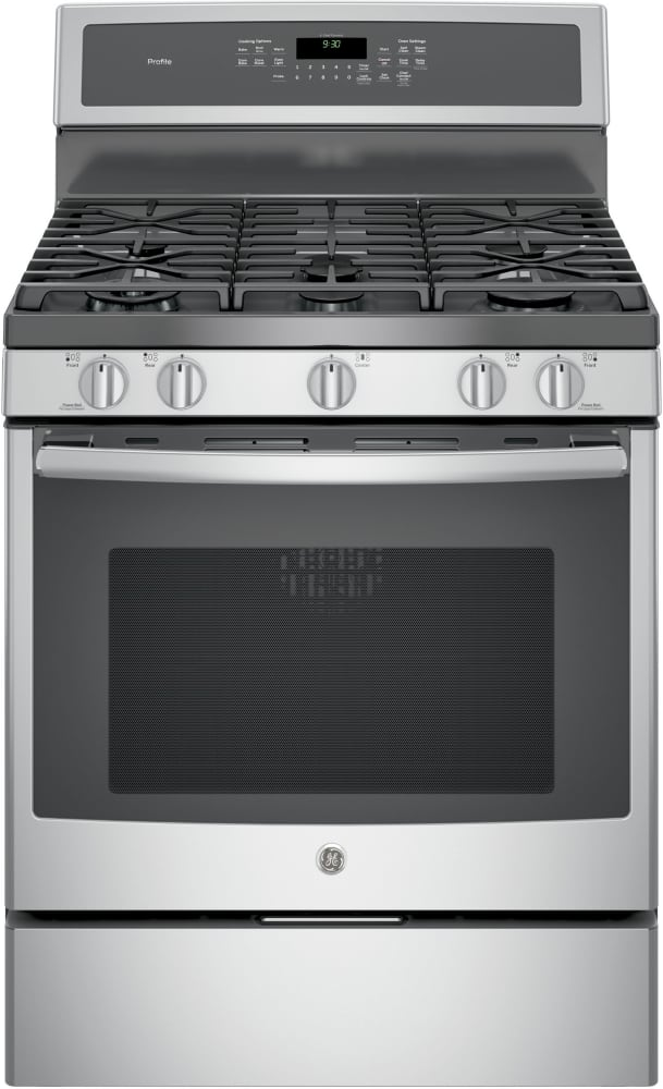 Ge Pgb930sejss 30 Inch Freestanding Gas Range With