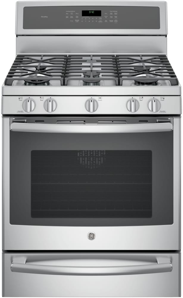 Ge Profile Pgb940zejss Series Gas Range With 5 Sealed Burners Including 20 000 Btu