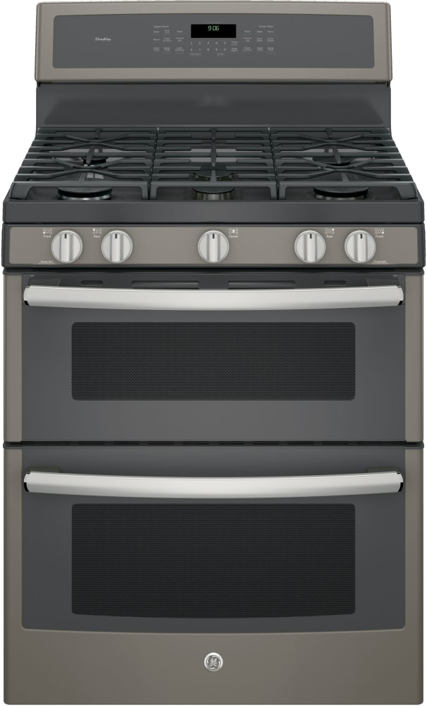 Ge Profile Pgb960eejes Series Freestanding Gas Double Oven Range With 5 Sealed Burners