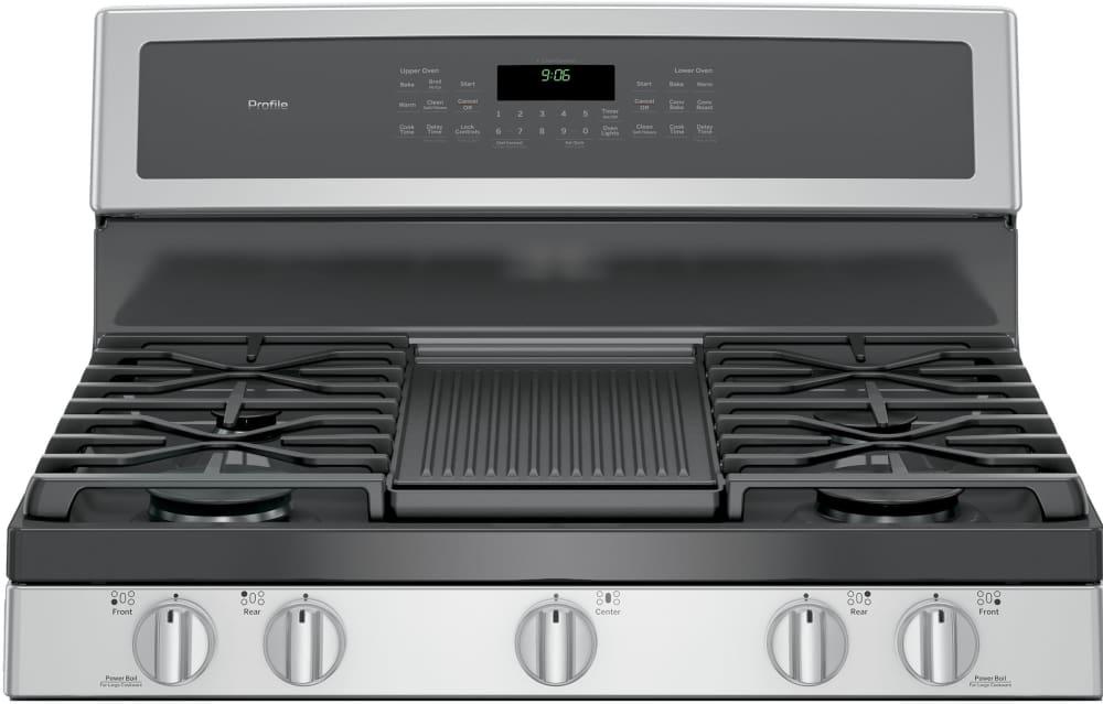 Ge Pgb960sejss 30 Inch Freestanding Double Oven Gas Range