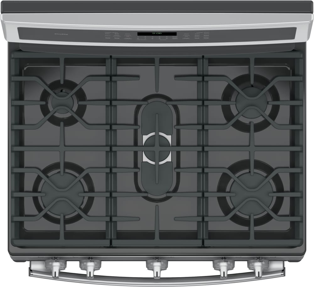 GE PGB960SEJSS 30 Inch Freestanding Double Oven Gas Range with