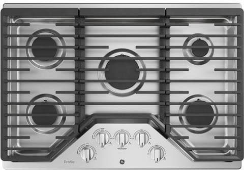 Ge Pgp7030slss 30 Inch Gas Cooktop With Led Backlit Knobs