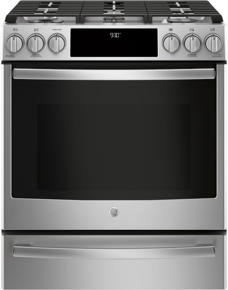 Ge Pgs930selss 30 Inch Smart Slide In Gas Range With Wifi