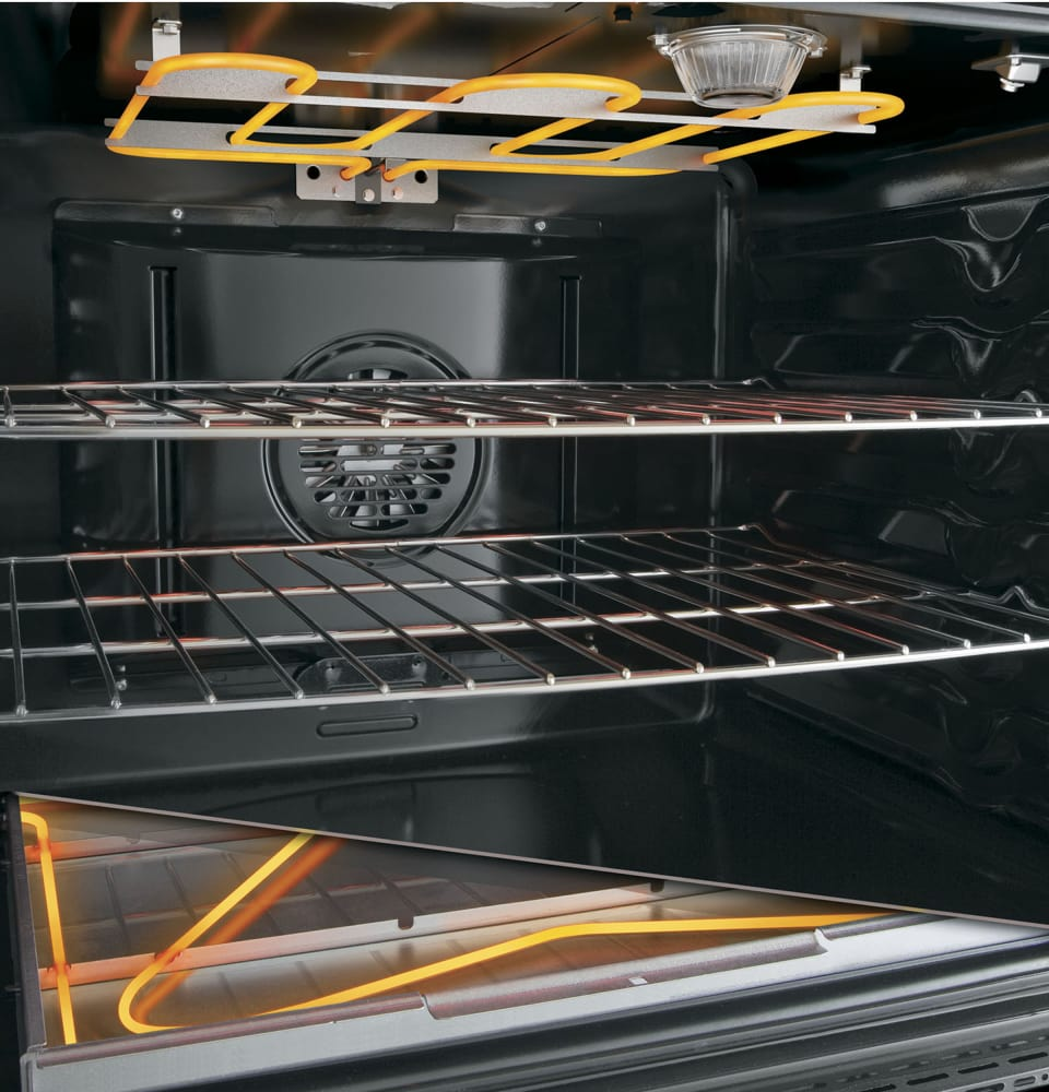 Ge Phb920sjss 30 Inch Freestanding Induction Range With