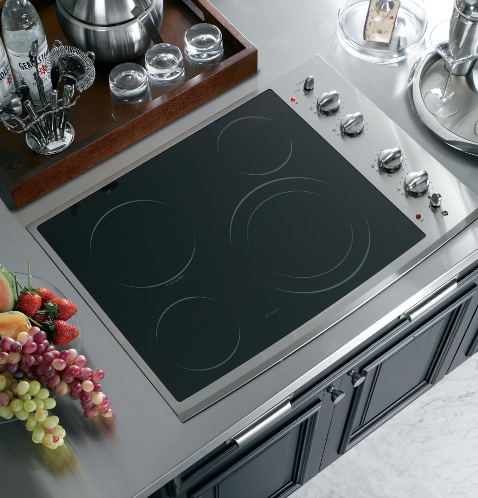Ge Pp912smss 30 Inch Smoothtop Electric Cooktop With 4