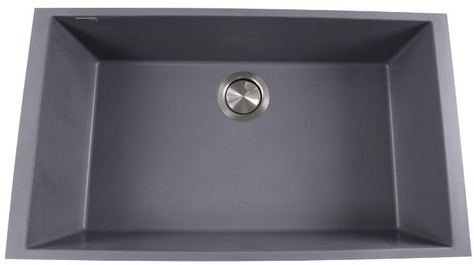 Nantucket Sinks PR3018TI 30 Inch Undermount Single Bowl Kitchen Sink on antique looking kitchen sink, black composite kitchen sink, delta faucets kitchen sink, silgranit kitchen sink, black acrylic kitchen sink, black granite composite sink, composite granite undermount sink, corner composite kitchen sink, 23 x 20 kitchen sink, granite composite kitchen sink, white composite sink, moen faucets kitchen sink, lowe's composite granite sink, three basin kitchen sink, 3 hole kitchen sink, square kitchen sink, one piece composite kitchen sink, swan granite double bowl kitchen sink, lowe's stores kitchen sink, franke granite kitchen sink,