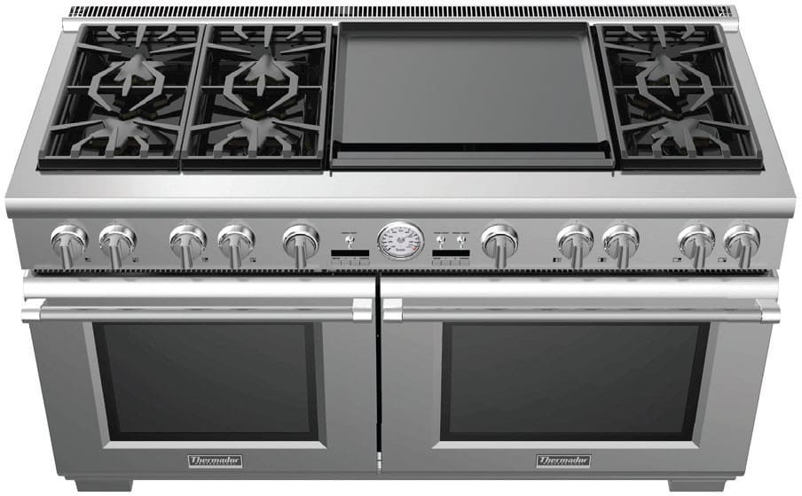Thermador Pro Grand Prd606reg 60 Dual Fuel Range With 6 Star Burners