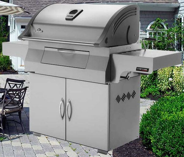 Napoleon Pro605css 68 Inch Freestanding Charcoal Grill