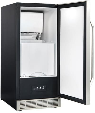 Danby Dim3225blsst 15 Inch Undercounter Ice Maker With 32