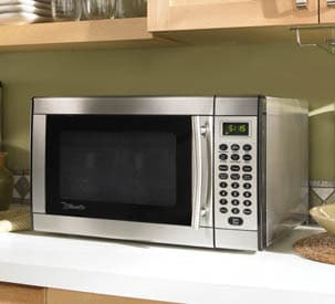 Danby Dmw1146ss 1 1 Cu Ft Countertop Microwave Oven With