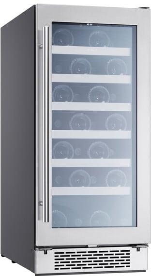 Zephyr Prw15c01ag 15 Inch Single Zone Wine Cooler With 3