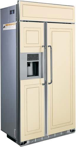 Ge Psb48yphsv 48 Inch Built In Side By Side Refrigerator
