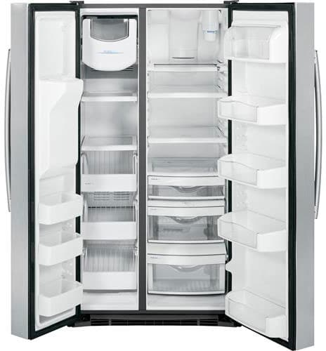 Ge Pss28kshss 36 Inch Side By Side Refrigerator With 28 4