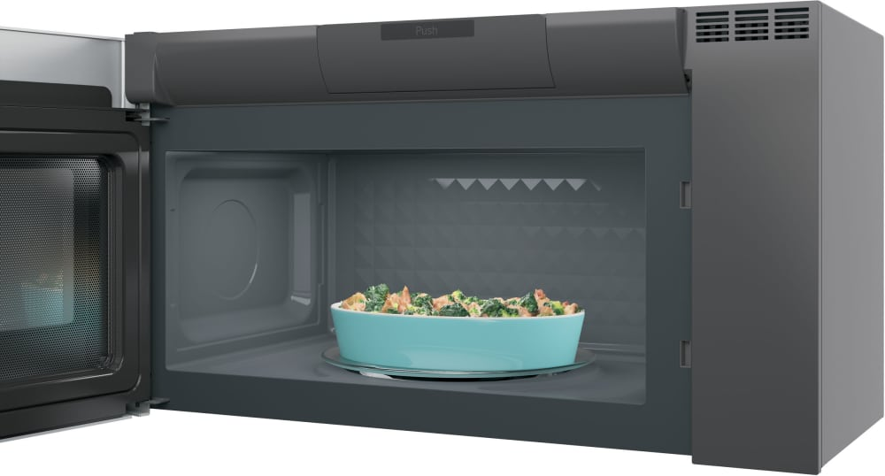 Ge Pvm9005sjss 2 1 Cu Ft Over The Range Microwave Oven