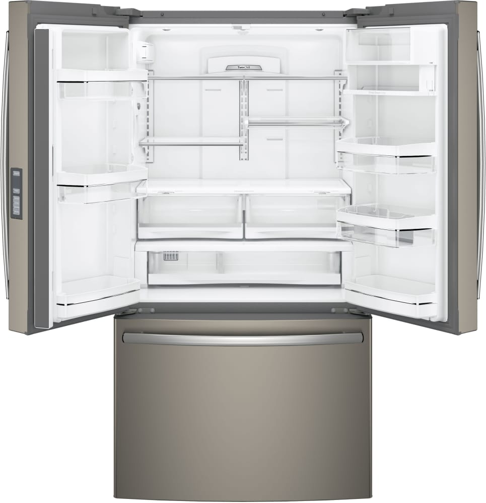 refrigerator with internal water dispenser. Counter- GE Profile PWE23KMKES - Series ENERGY STAR 23.1 Cu. Ft. Refrigerator With Internal Water Dispenser