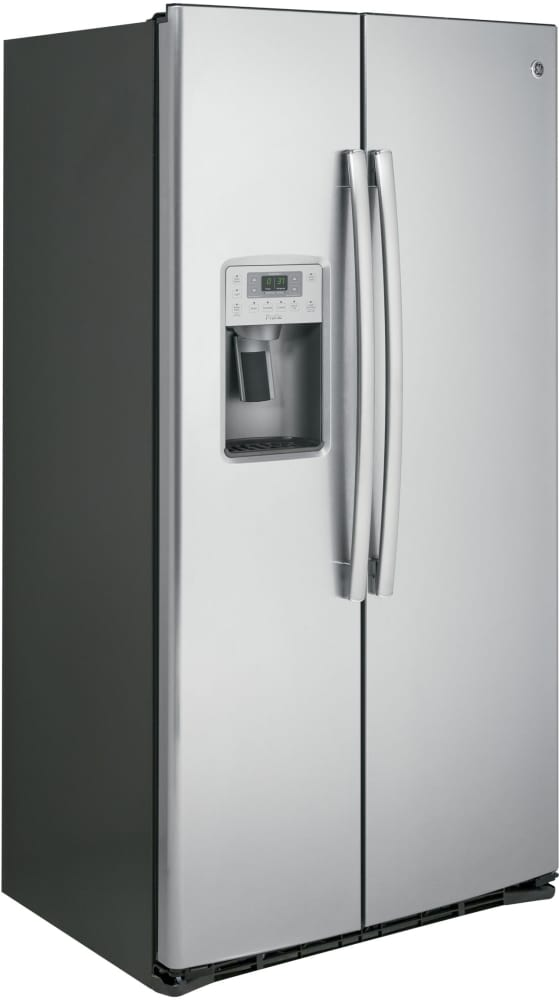 Ge Pzs22mskss 36 Inch Side By Side Refrigerator With Turbo