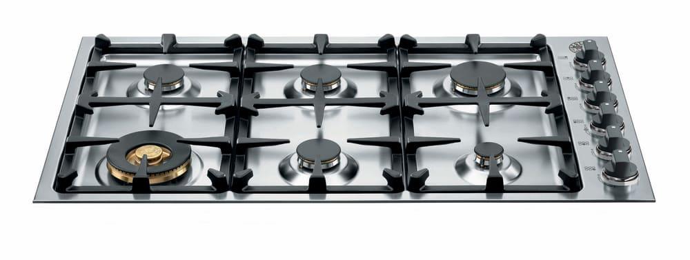 Bertazzoni Master Series Qb36m600xlp 36 Gas Cooktop With 6 Sealed Br Burners