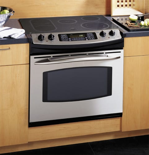 drop in electric range ge jd968sfss 30 inch drop in electric convection range 29355
