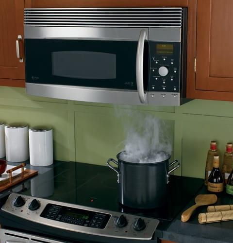 Best Over The Range Microwave >> GE SCA1001KSS 1.4 cu. ft. Over-the-Range Advantium Microwave Oven with 900 Cooking Watts ...