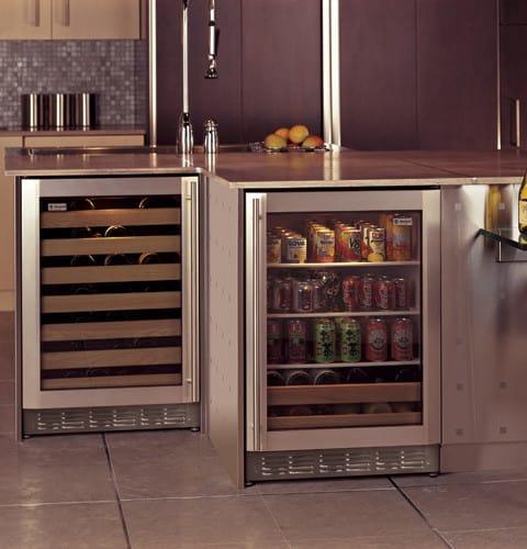 Mini Fridge See Through Door Refrigerator In Black With Stainless Steel.  Sub Zero Repair Beverly Hills Refrigerator Zer