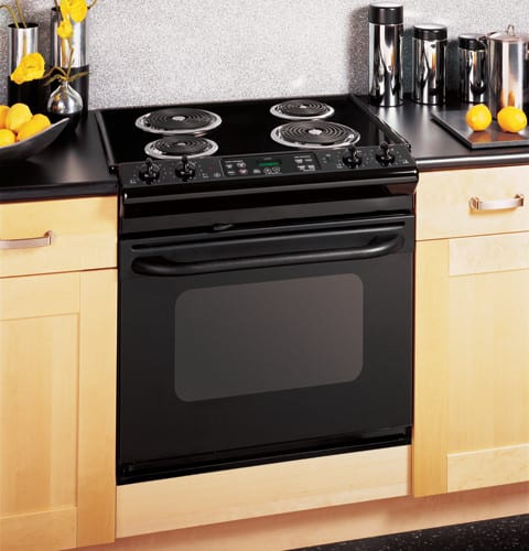 Ge Jdp39bkbb 30 Inch Drop In Electric Range With 4 Coil