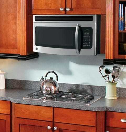 Ge Jvm1540snss 1 5 Cu Ft Over The Range Microwave Oven