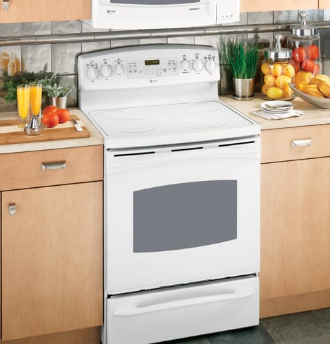 stainless gas oven with cooktop