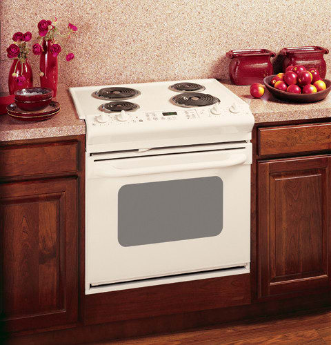 Ge Jdp39ckcc 30 Inch Drop In Electric Range With 4 Coil