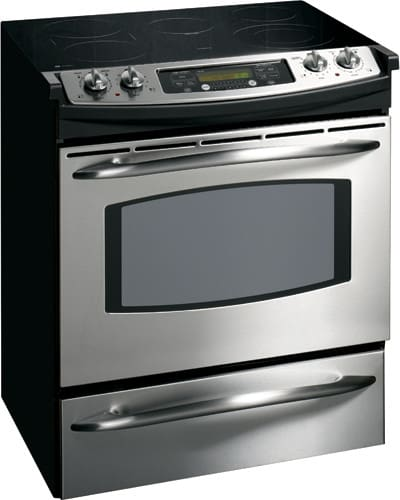 Ge Js905skss 30 Inch Slide In Electric Range With 5