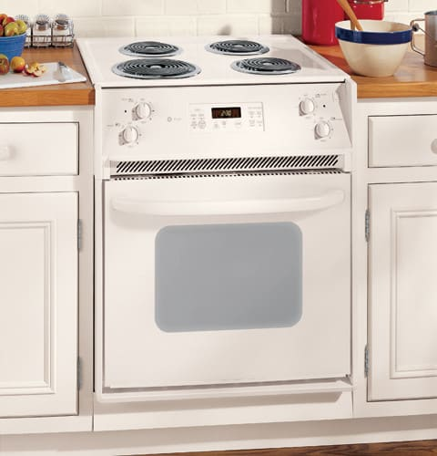 ge jmp31clcc 27 inch drop in electric range with 4 coil. Black Bedroom Furniture Sets. Home Design Ideas