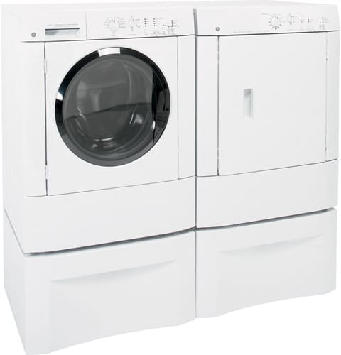 Ge Dsxh47egww 27 Inch Electric Dryer With 5 8 Cu Ft